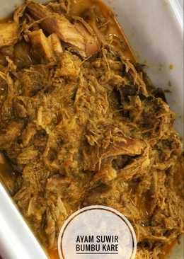 Ayam Suwir Bumbu Kare