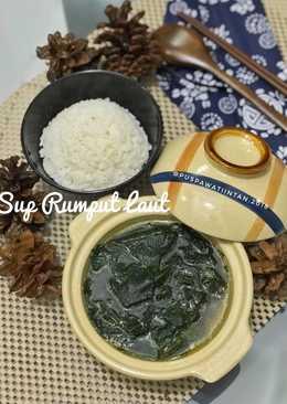 Resep Sup Ayam Jagung Rumput Laut