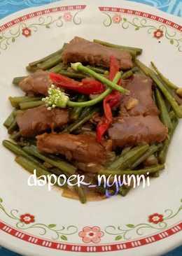 Daging Sapi & Kembang Brambang saus Teriyaki