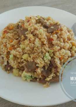 Resep Nasi Goreng Mixvegetable Bakso by Ratu