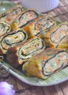 Resep Gyeran Mari (Korean Rolled Omelette) Alias Telur Dadar Gulung