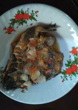 Pecak ikan mas