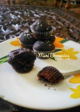 Steamed Mini Brownies (Brownies Mini Kukus)