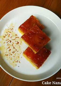 Cake Nanas Karamel