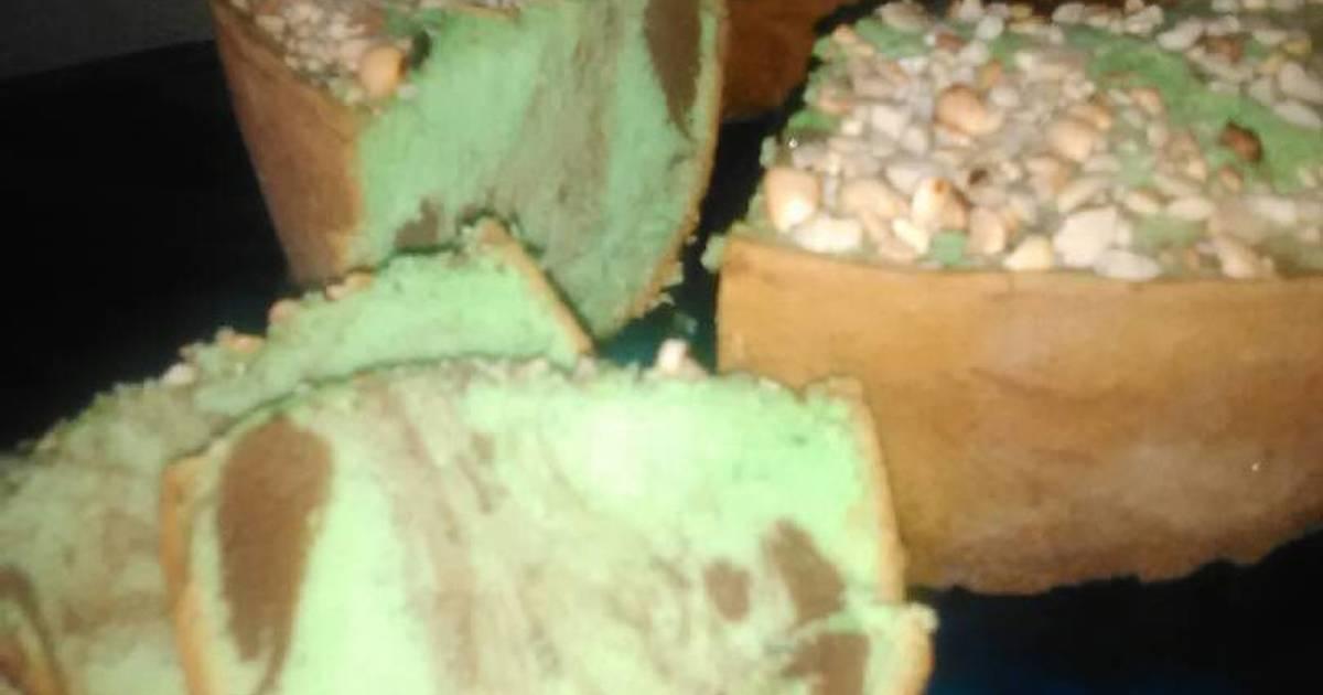 Resep Bolu Pandan Kacang