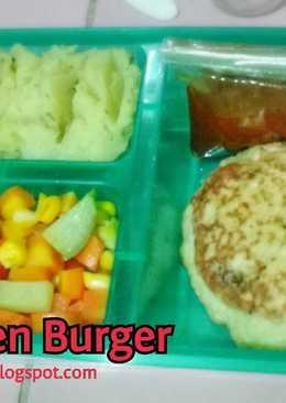 Bekal Suami - Chicken Burger Bbq Sauce