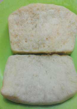 Eggless bread (roti tanpa telur) versi kukus