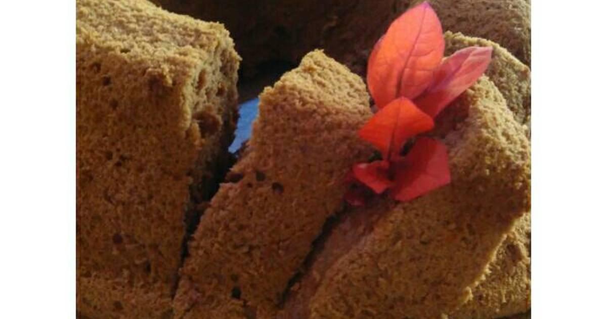 Resep Chocholate chiffon cake