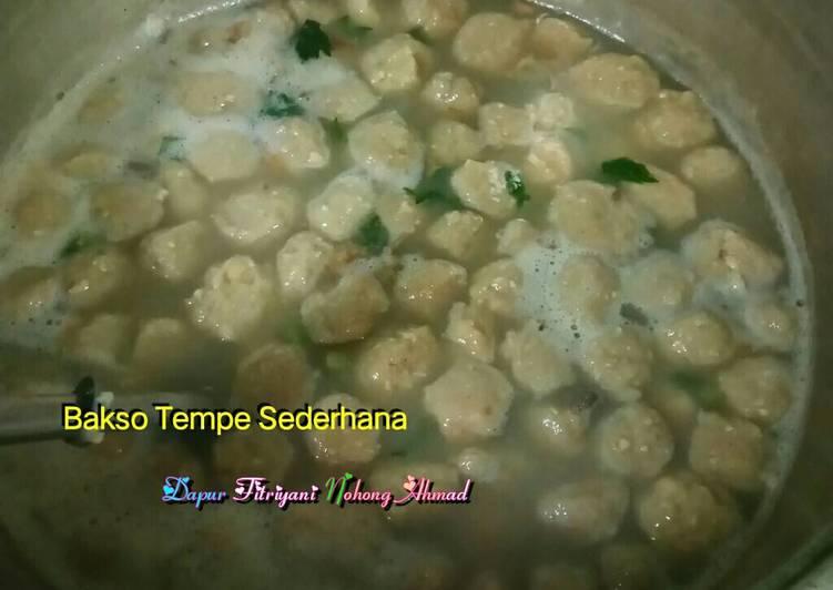Resep Bakso Tempe Sederhana Ala Dapur Fitri Dari Dapur Fitri Simple Cooking Top Resep Makanan Dan Minuman Mudah Lezat