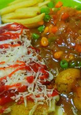 Chicken Katsu Steak