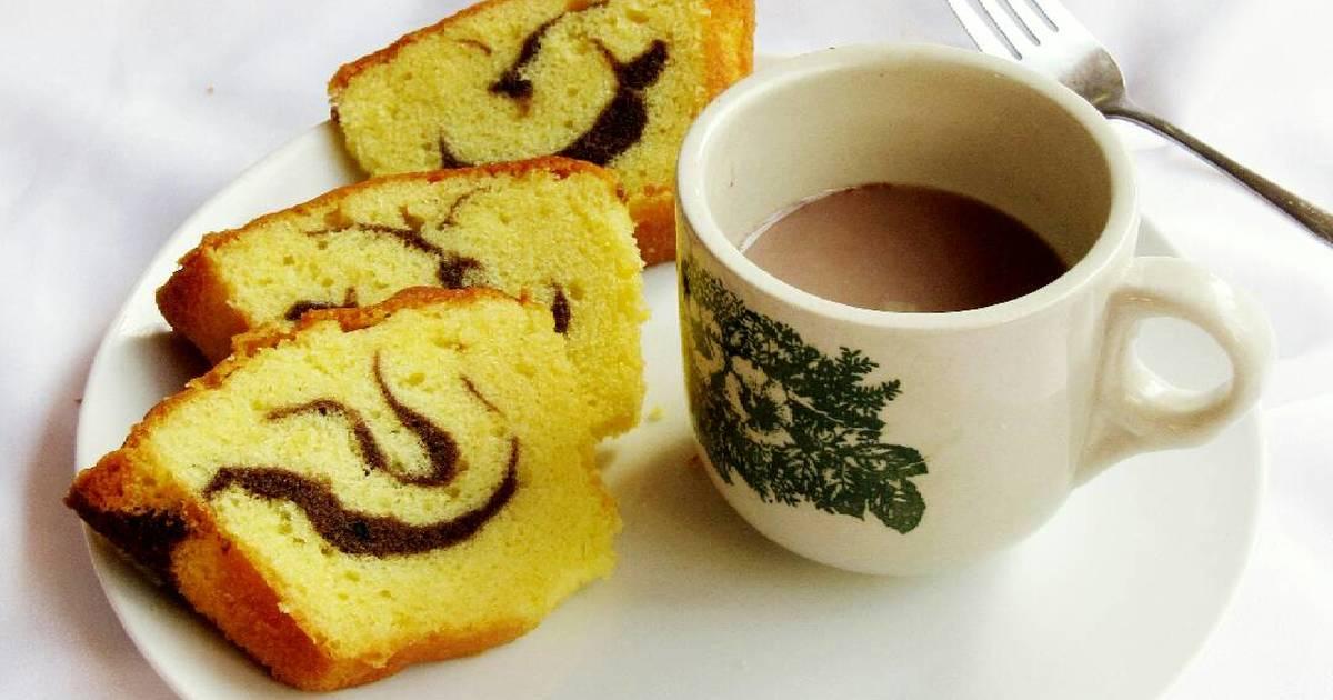 Resep Marble cake jadoel