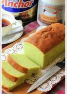 Condensed Milk PANDAN POUND CAKE 5 Bahan Yummy