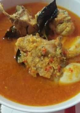 Ayam Kuah Gulai simple