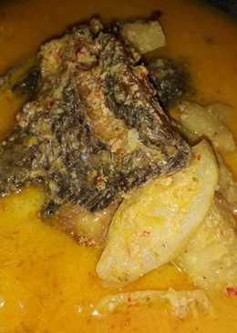 Ikan nila nanas santan