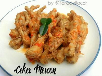 Ceker Pedas Mercon