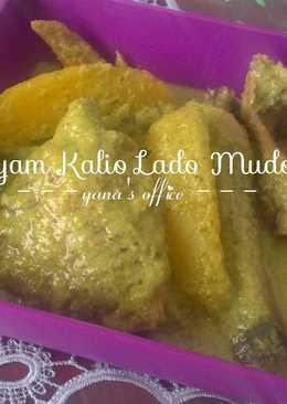 Ayam Kalio Lado Mudo / Ayam Gulai Cabai Hijau