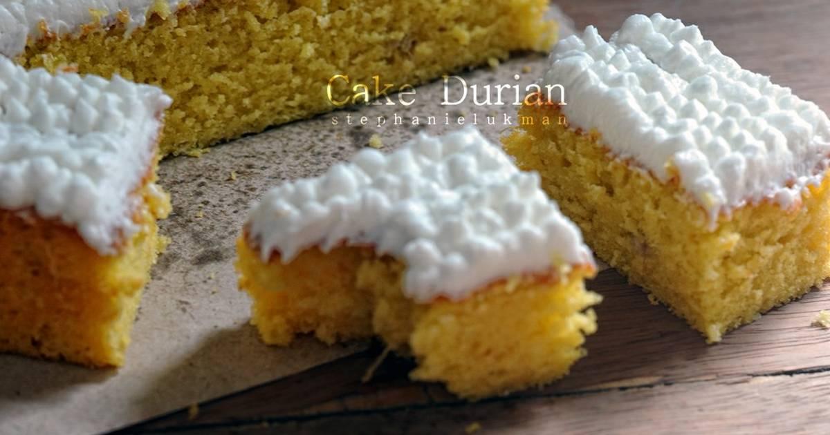 Resep Cake Durian Jtt: 1.582 Resep Durian Enak Dan Sederhana