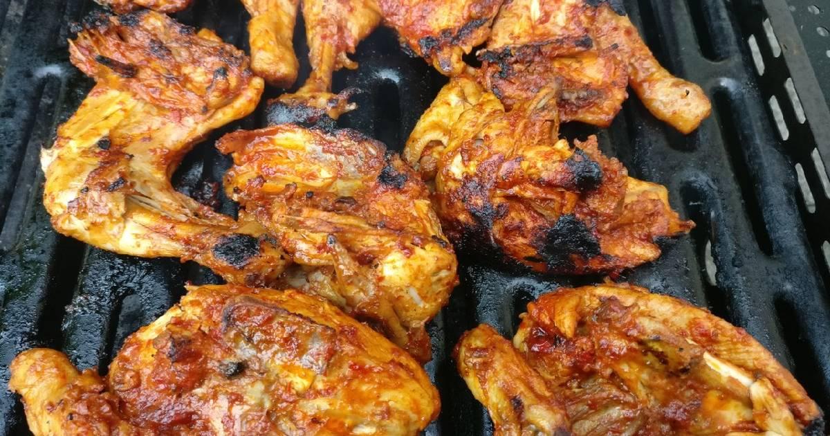 Resep Ayam Bakar Ungkep Air Kelapa - Gapura J