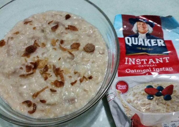 Quaker Oatmeal Kambing Harisah