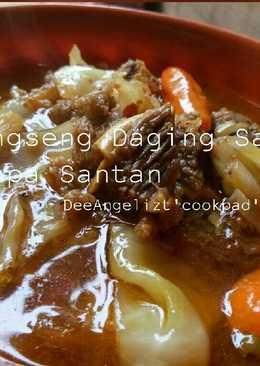 Tongseng Daging Sapi tanpa Santan