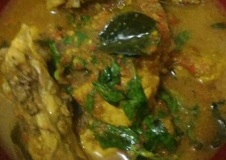 Resep Ayam rica-rica kemangi pedas Dari Deasy Chichi Tarigan