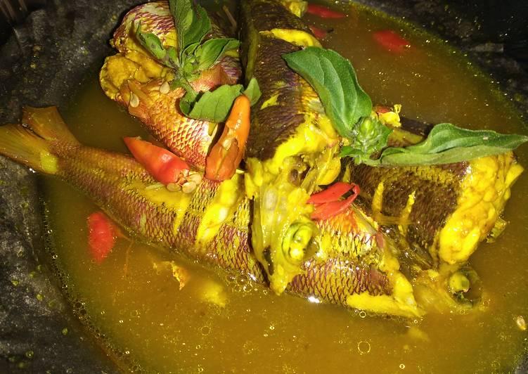 Ikan Biji Nangka Masak Kuning