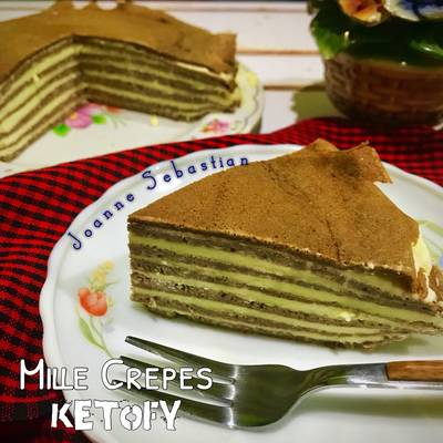 Mille Crepes -Keto