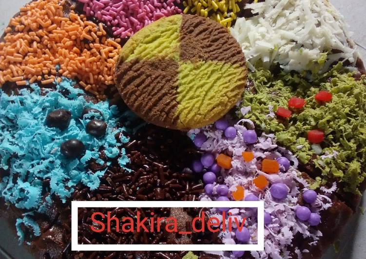 Resep Cheese Cake Kukus Ekonomis: Resep Pizza Brownies Ekonomis (kukus) Oleh Riniie Shakira