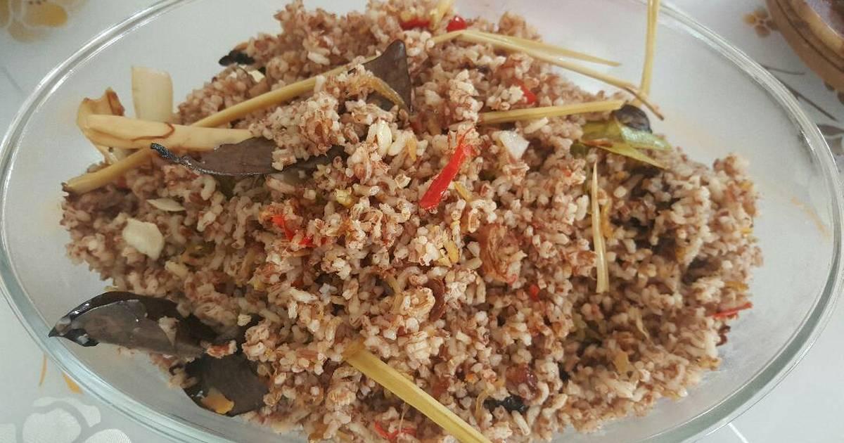 9 resep nasi liwet beras merah tanpa santan masakan magic com enak dan sederhana - Cookpad