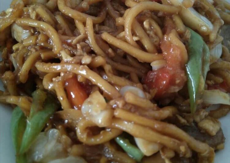 gambar untuk resep makanan Mie Goreng Jawa