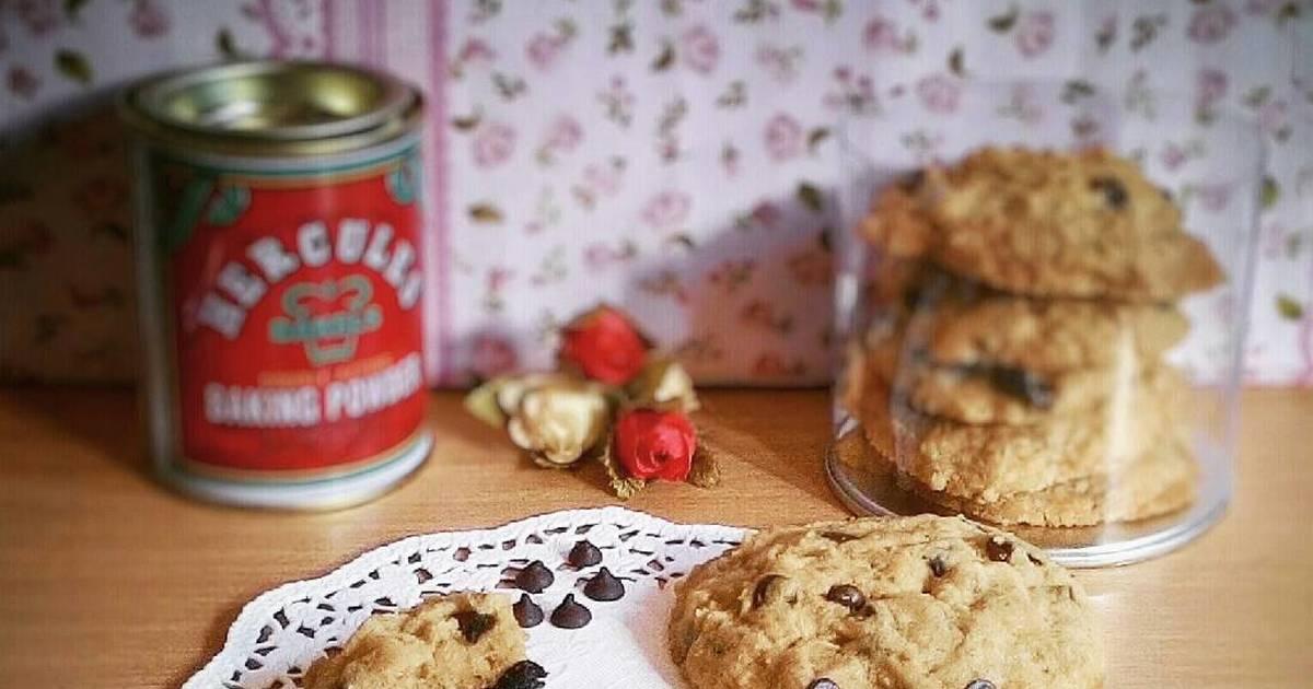 Resep [Rebake] Chewy Chocochips Cookies