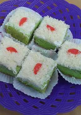 Cake pandan kukus