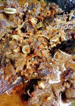 Semur daging kental
