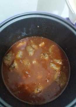 Bola bola daging sapi giling saus tomat yummy (diet gm hari ke 5) || magic com