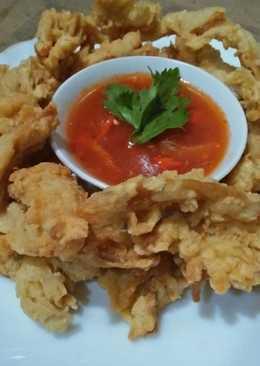Jamur Crispy Saus Tiram