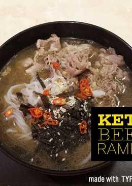 Beef Ramen #keto