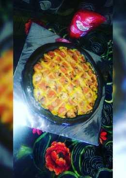 Black pizza