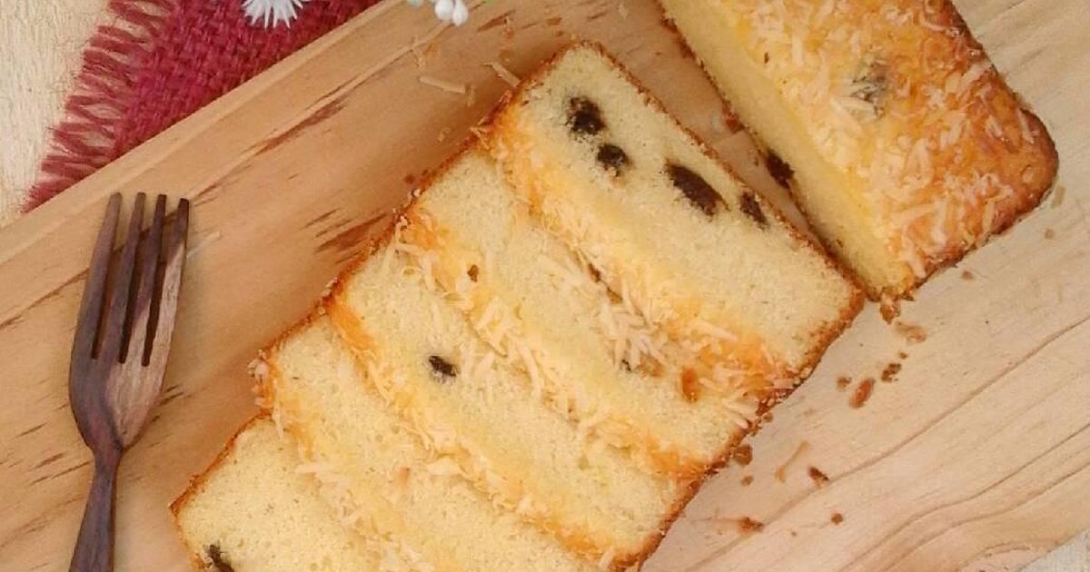 Resep Banana Cake Ala Jepang: Cake Kismis