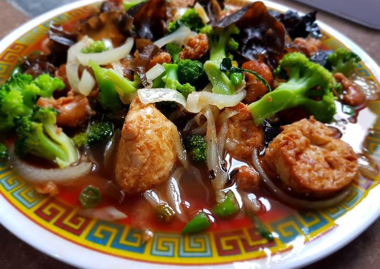 Resep Brokoli Ca Bawang Merah