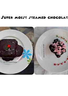 Super moist steamed chocolate 🎂🍰 no mixer..no oven..🤗😍😋