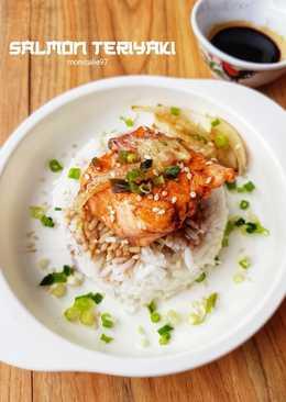 Salmon Teriyaki-3 Bahan, Praktis