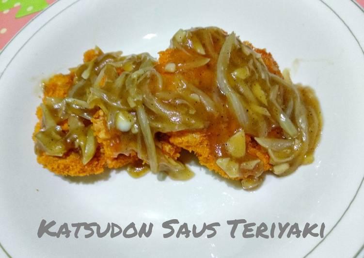 Chicken Katsu Saus Teriyaki