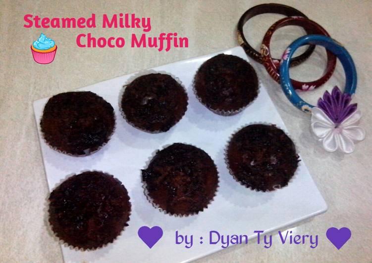 Resep Muffin Cokelat Susu Kukus Kiriman dari Dyan Ty Viery