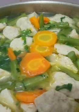 Sop Bakso Ayam