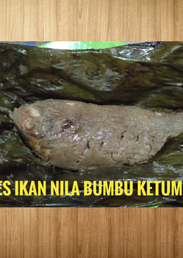 Pepes ikan Nila bumbu Ketumbar