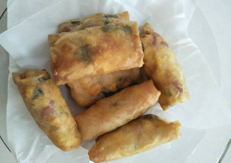lumpia essay How to make lumpia lumpia—the filipino version of the asian spring/egg roll—can be served as a side dish or an appetizer the vietnamese use a thinner kind of wrapping.