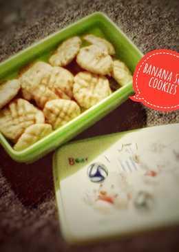 Banana Soft Cookies #kamismanis