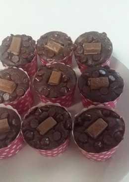 Brownies cupcakes