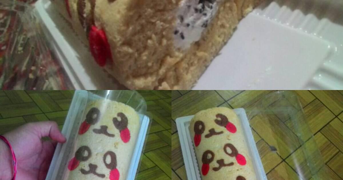 Resep Sponge Cake Jepang: Resep Japanese Roll Cake Aka Bolu Gulung Jepang Oleh Putri