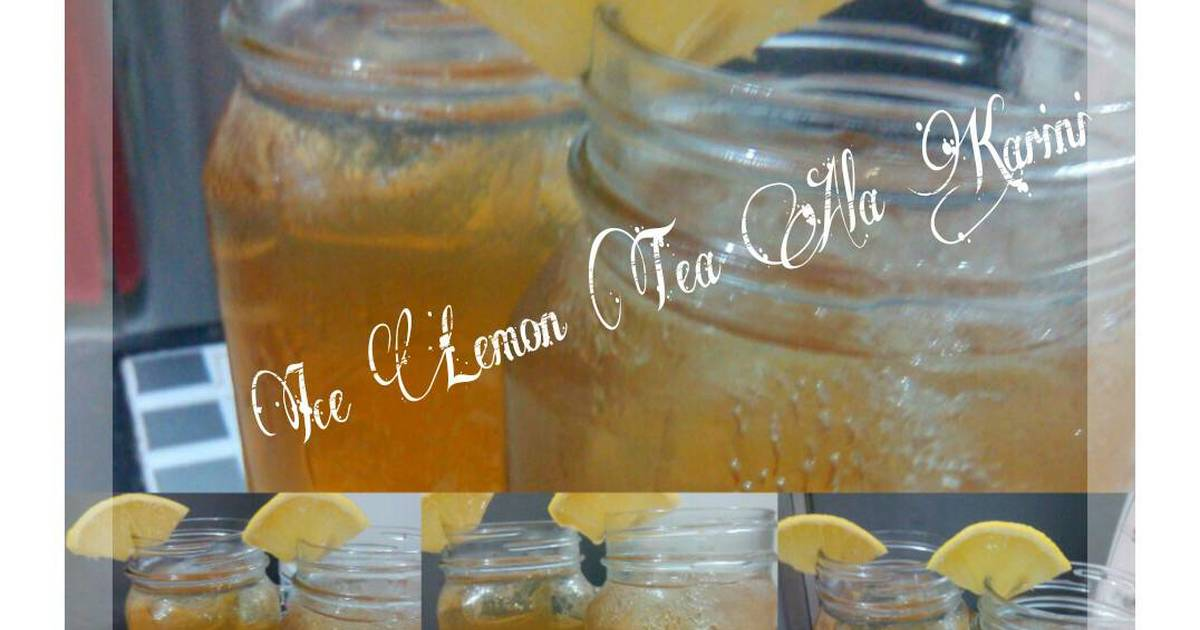 Resep Ice Lemon Tea